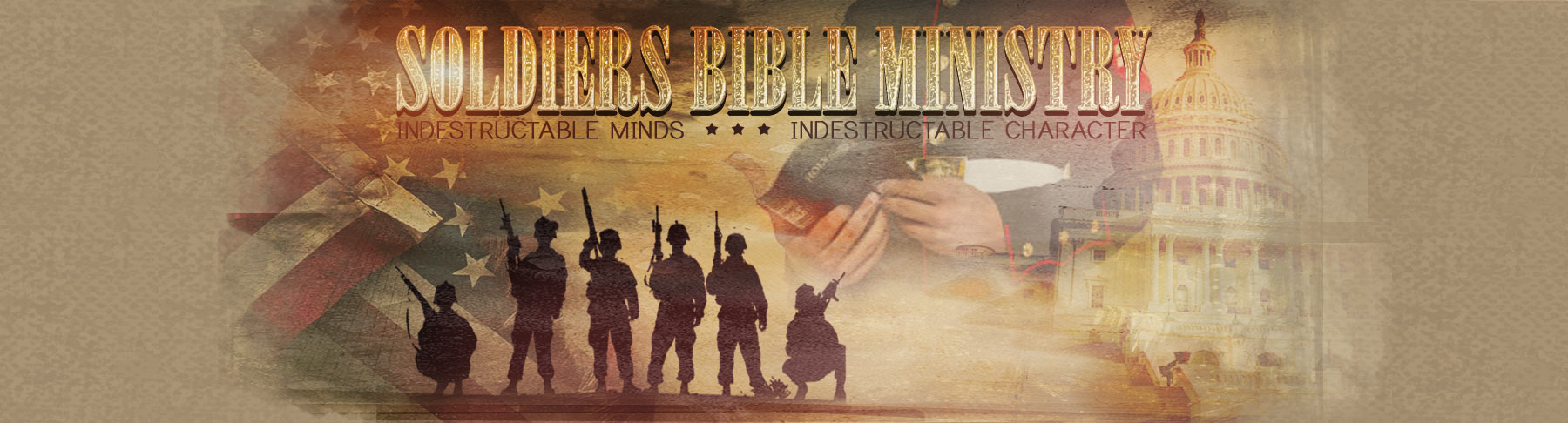Soldiers Bible Ministry   Free Bibles & Spiritual Resources   Equipping Military Chaplains logo