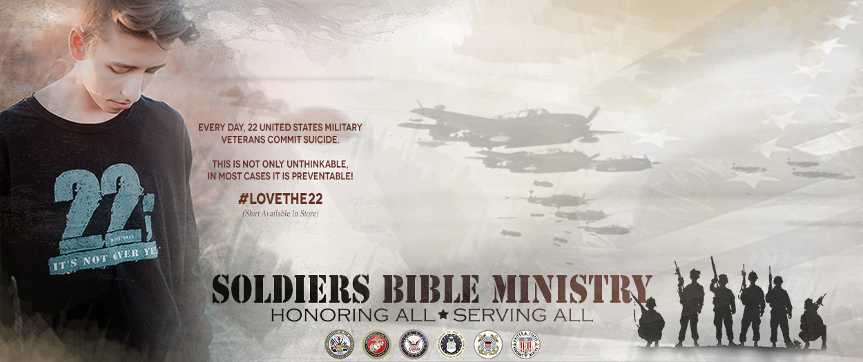 soldiers Bible ministry #LOVETHE22 SBM